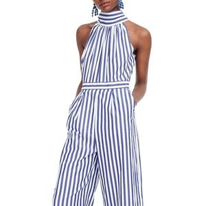 BNWOT — J.Crew Striped Jumpsuit — Size 4